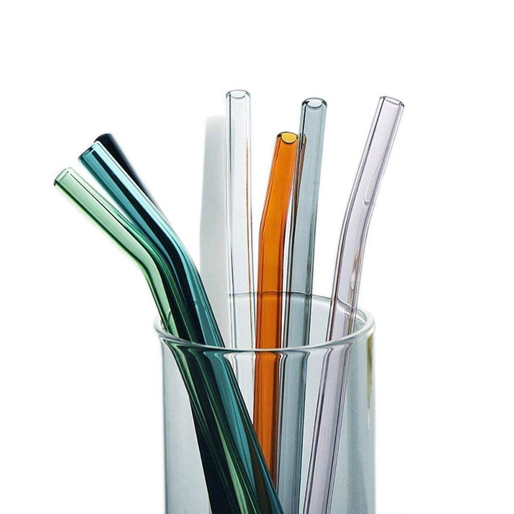 product image for Color Glass Straws Pack of 8