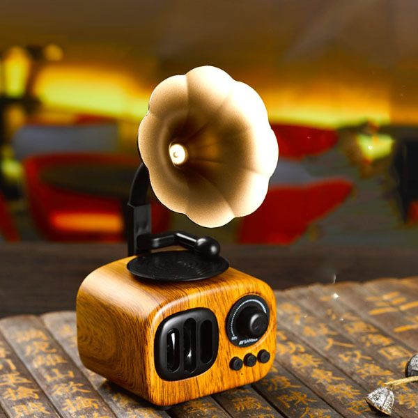 Retro Bluetooth Gramophone Speaker