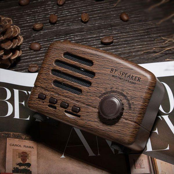 product image for Mini Vintage Radio Bluetooth Speaker