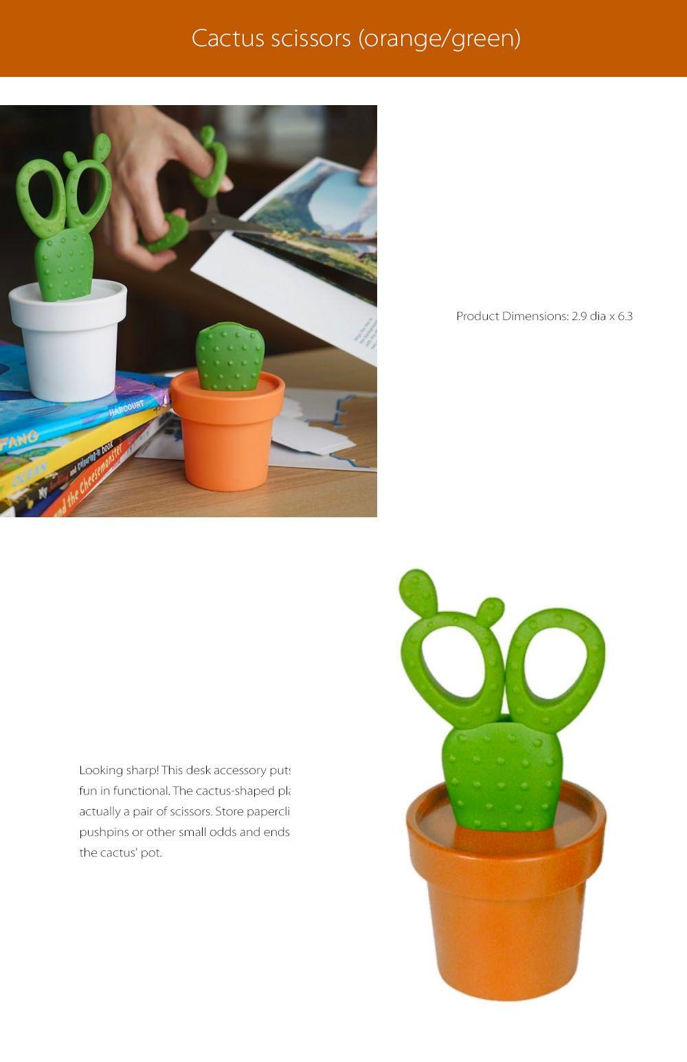 Cactus Scissors Fun and Functional