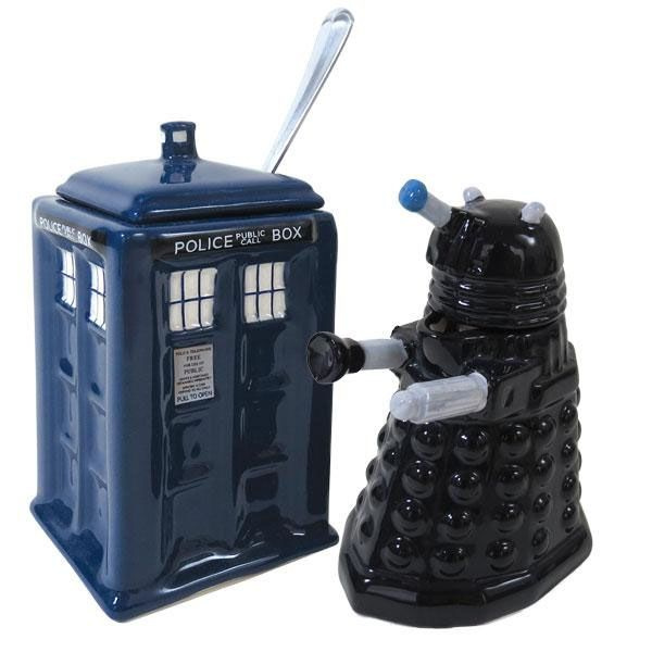 Doctor Who Tea Party Set