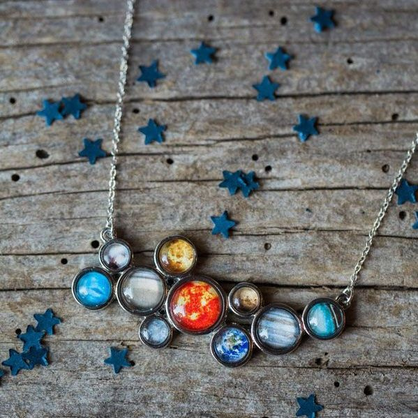 product image for Solar System Bib Necklace