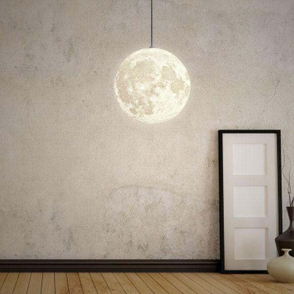 product image for 3D Printed Moon Pendant Light