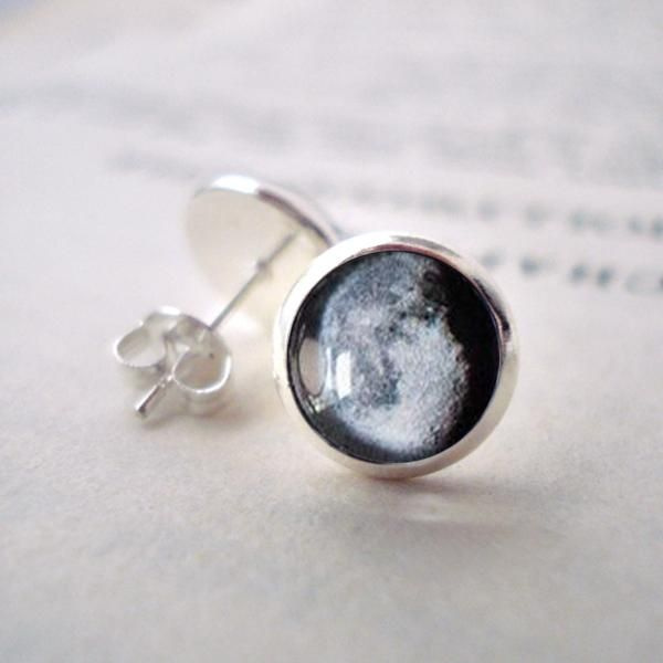 product image for Birth Moon Small Stud Earrings