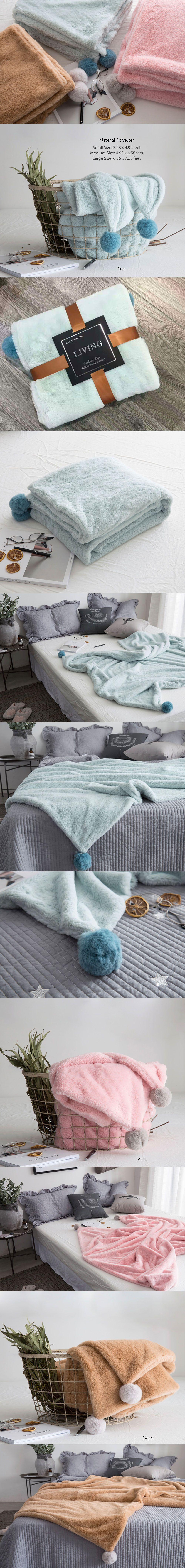 Flannel Fleece Luxury Blanket Comfy and Cozy