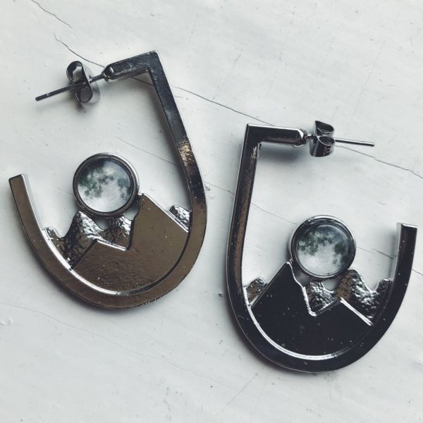 product image for Galaxy Mountain Range Earrings