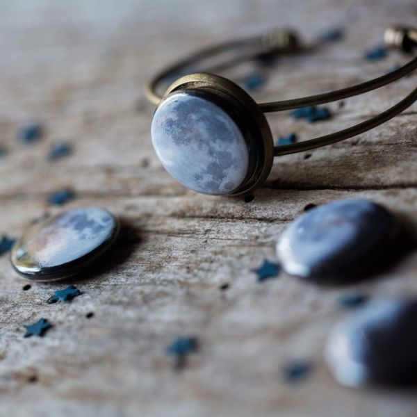 product image for Interchangeable Moon Phase Cuff Bracelet