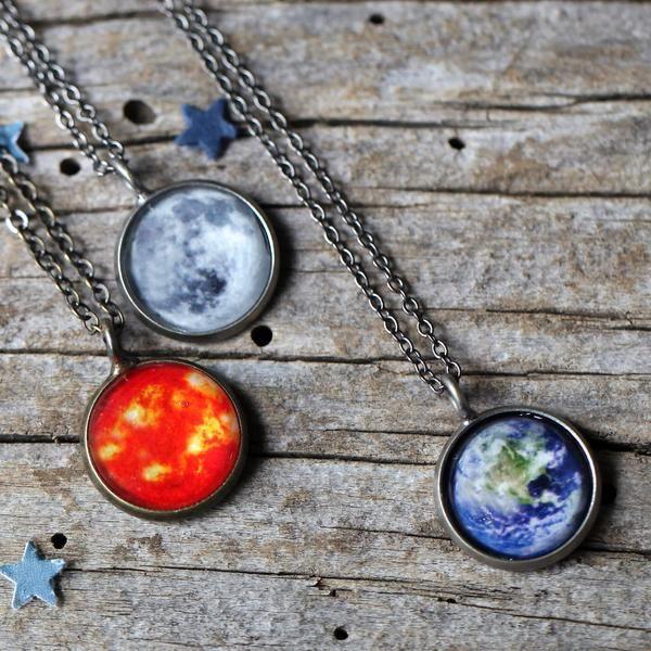 Galaxy Space Pendant Necklace