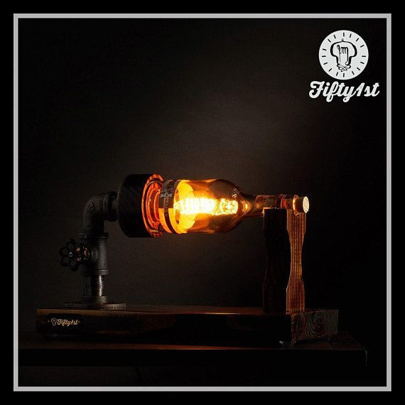 "product image for Steampunk Table Lamp ""Basil"""