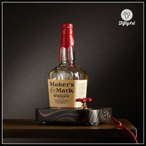 "product image for Rustic Makers Mark Desk Lamp ""Makers"""