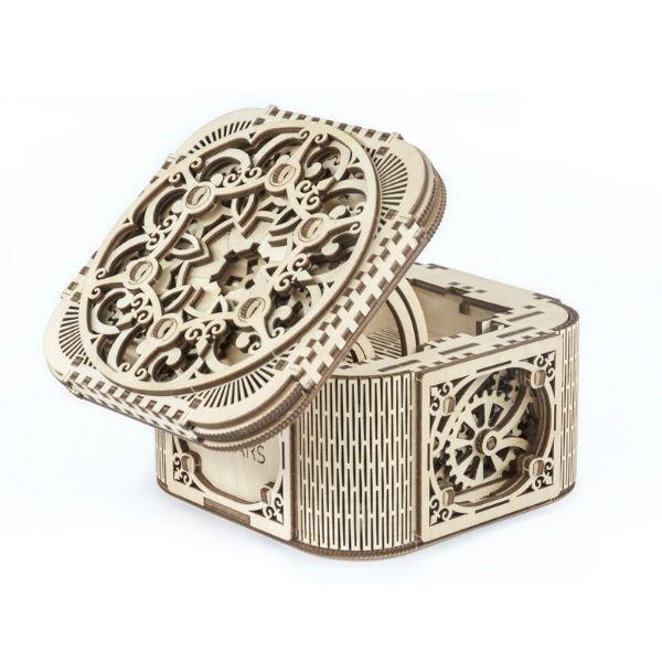 UGEARS Mechanical Treasure Box