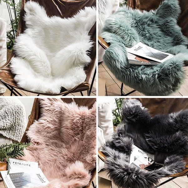 Faux Sheepskin Pelt