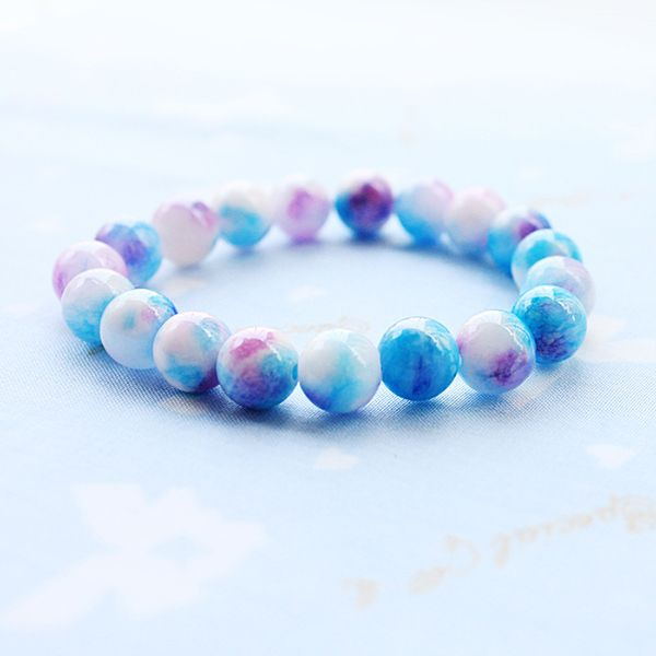 Persian Jade Stack Bracelet