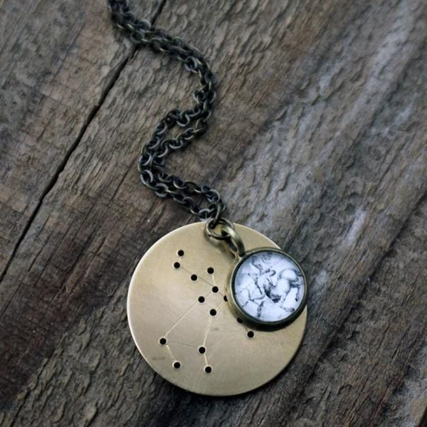 Constellation Zodiac Necklace