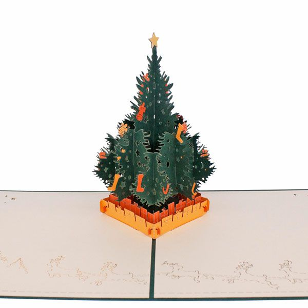 product image for Merry Christmas Pop-Up Greeting Card