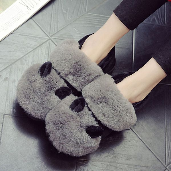product image for Cozy Cotton Ear Slippers