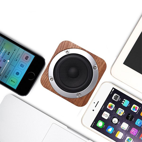 product image for Wood Cube Bluetooth Speaker
