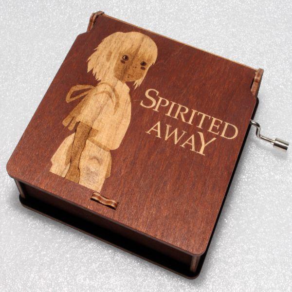 Spirited Away Wooden Music Box