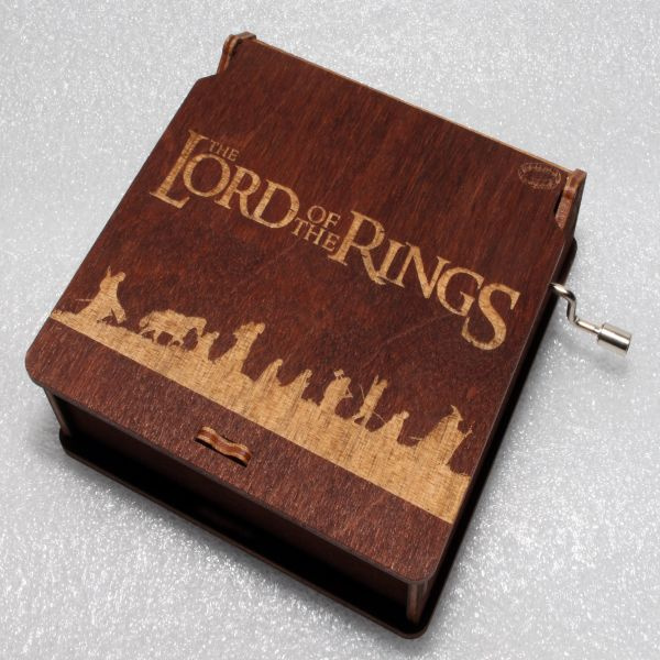 The Fellowship Of The Ring - Lord Of The Rings Music Box  - LOTR Theme
