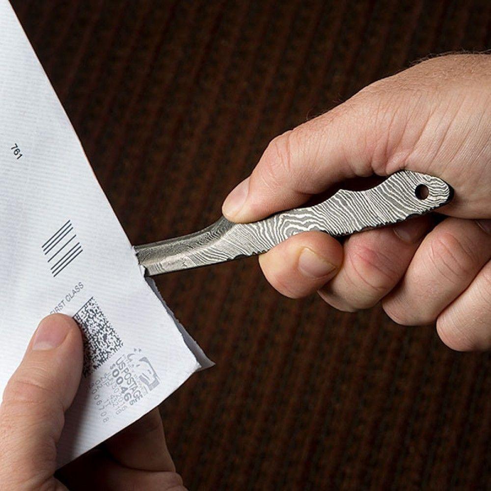 BucknBear Handmade Damascus Letter Opener  Letter Opener, Unique Gifts