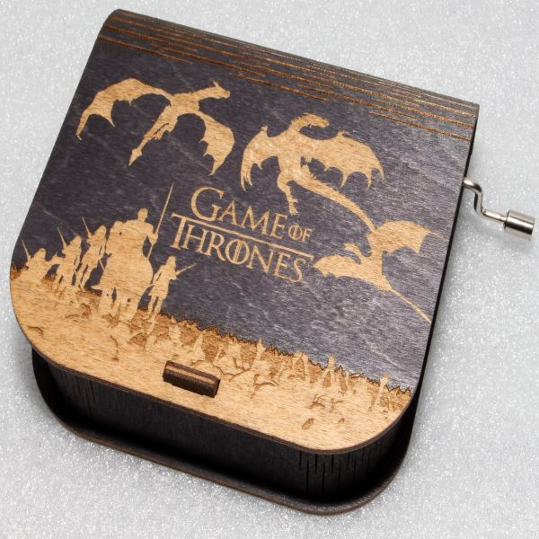 Game Of Thrones Music Box - White Walkers Army