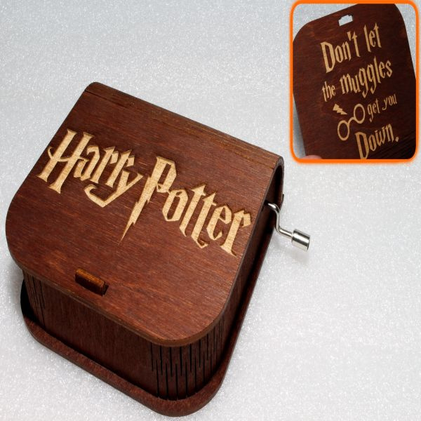 Harry Potter Music Box - Don't Let The Muggles Get You Down
