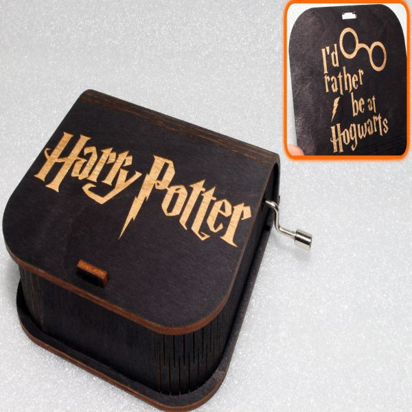 Harry Potter Music Box - I'd Rather Be At Hogwarts