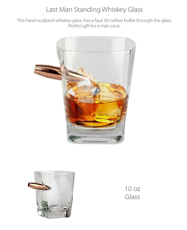 Last Man Standing Whiskey Glass Ballistic Barware