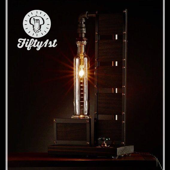 Industrial Table Lamp Hanger 1