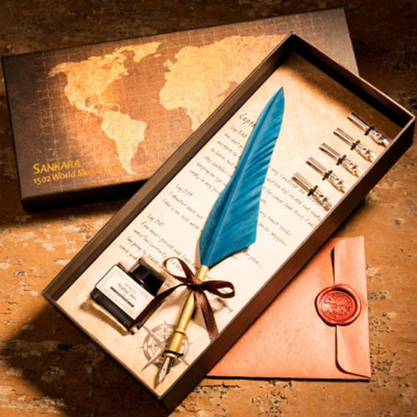 product image for Feather Dip Pen Gift Set