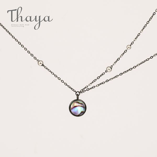 Thaya Milky Way Star Trails Necklace