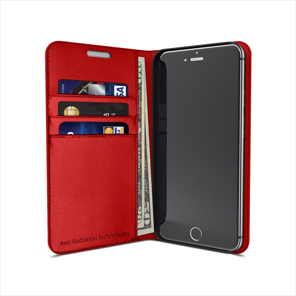 product image for Vest Anti-Radiation Wallet and Phone Case EMF & RFID Protection