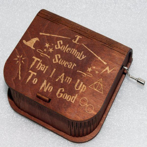 Marauders Map Music Box - Harry Potter