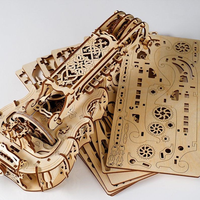 product image for UGears Hurdy-Gurdy