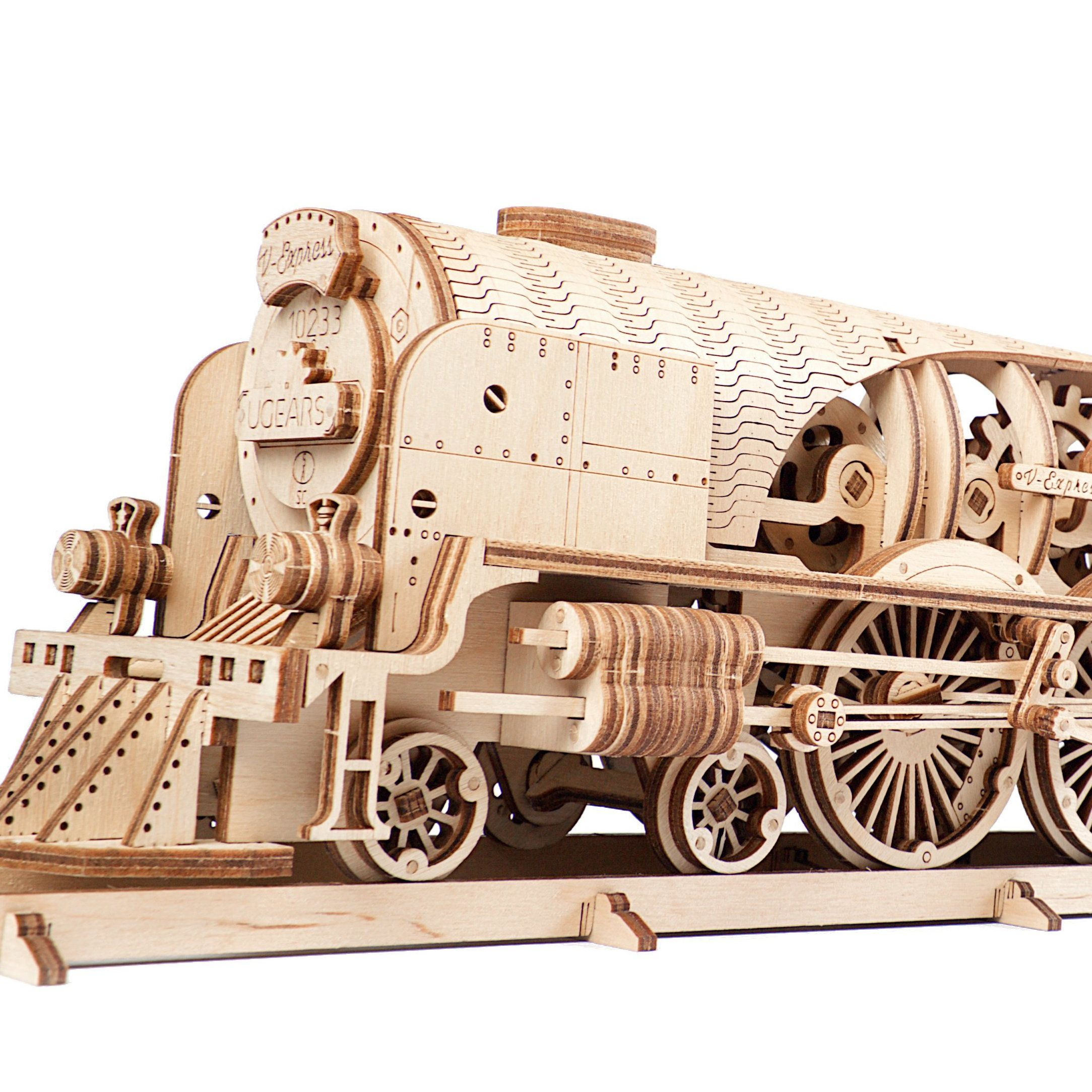 product image for UGears V-Express Steam Train with Tender