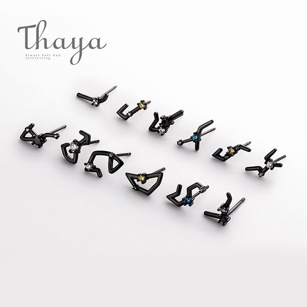 Thaya 12 Constellations Earring Collection