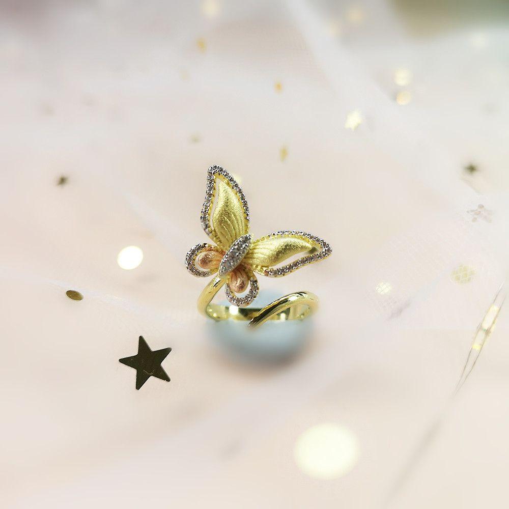 MosDream Butterfly Wrap Ring