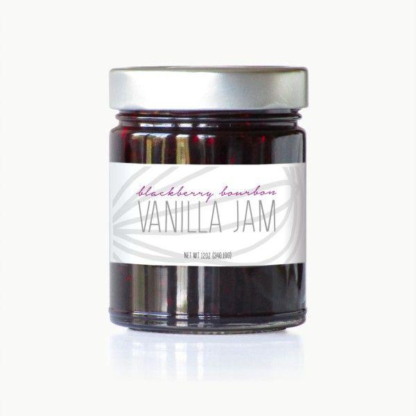 Blackberry Bourbon Vanilla Jam