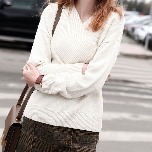 product image for Woman's V Neck Sweater