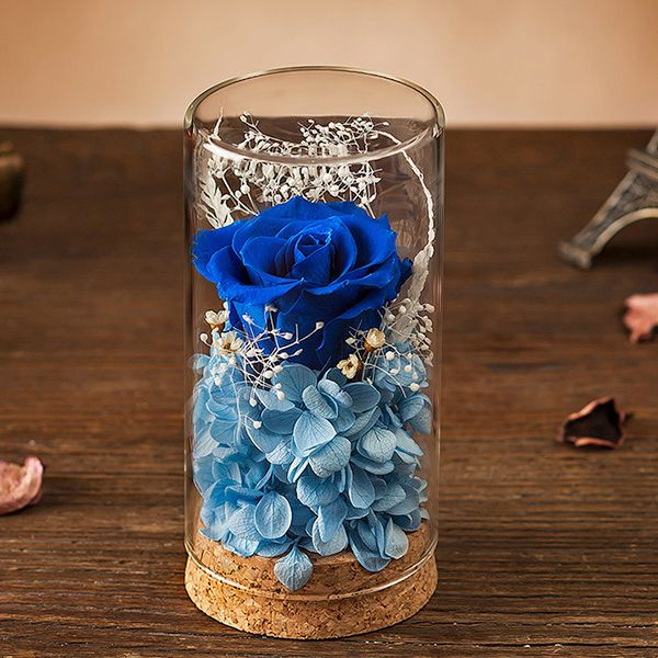 Preserved Rose Glass