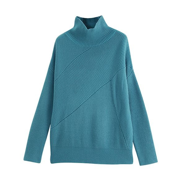 product image for Loose Fit Funnel Neck Sweater