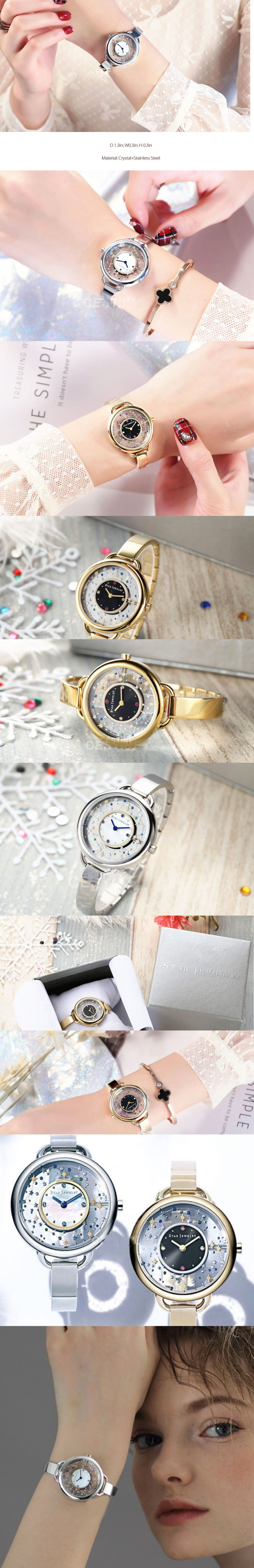 Star Jewelry Watch Space Collection
