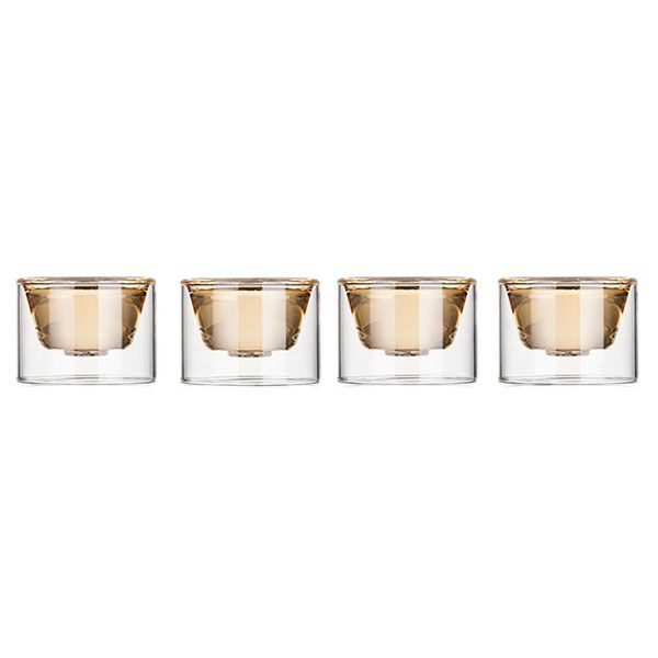 product image for Double Wall Tea Cup Set