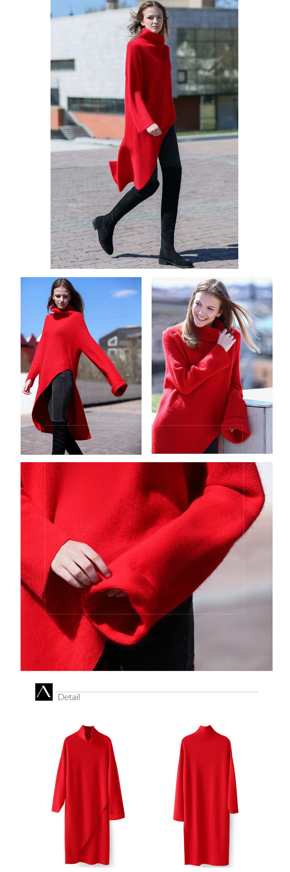 Women Long Sweater Creative Design