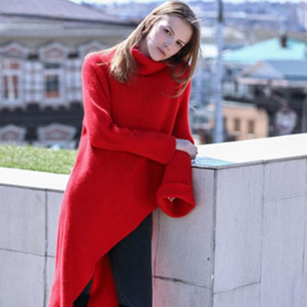 product thumbnail image for Long Asymmetrical Sweater