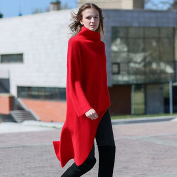 product image for Long Asymmetrical Sweater