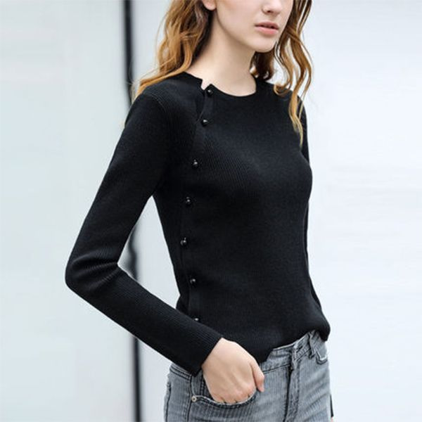 product image for Pearl Button Knit Sweater