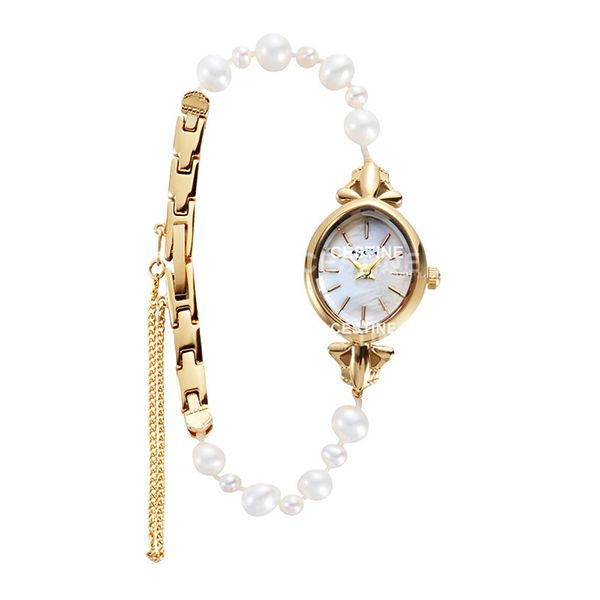 product image for Natural Pearl Bracelet Watch