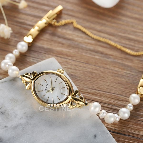 Natural Pearl Bracelet Watch
