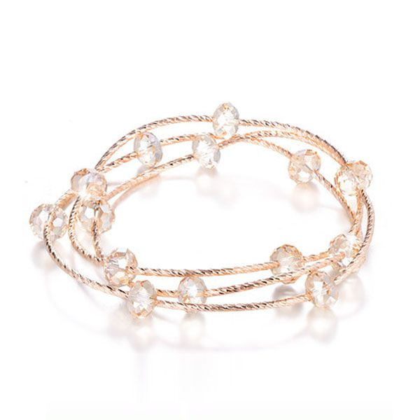 product image for Layered Crystal Bracelet